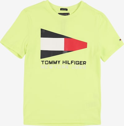 TOMMY HILFIGER Shirt in neongelb, Produktansicht