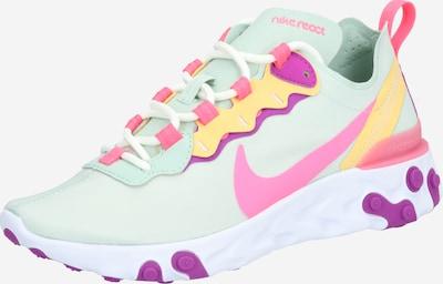 Nike Sportswear Sneaker 'React Element 55' in mint / hellorange / pink / weiß, Produktansicht