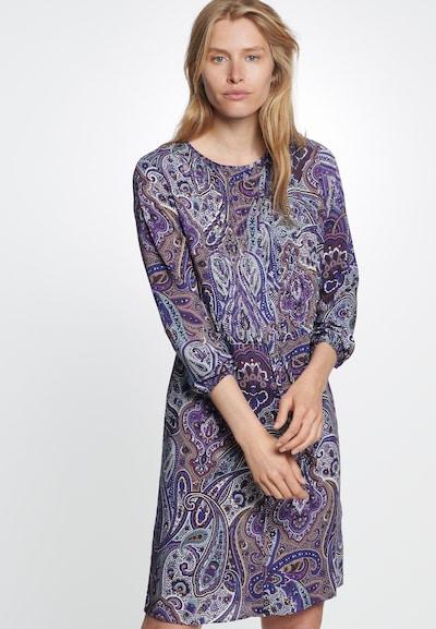 SEIDENSTICKER Robe d'été ' Schwarze Rose ' en violet: Vue de face