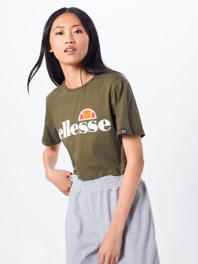 Marškinėliai iš ELLESSE , spalva - rusvai žalia: Vaizdas iš priekio