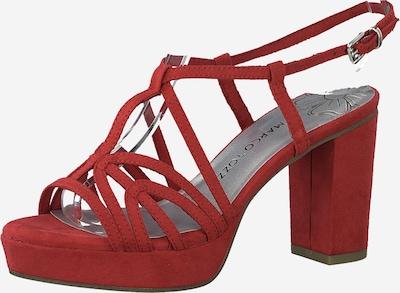 MARCO TOZZI Páskové sandály - červená, Produkt