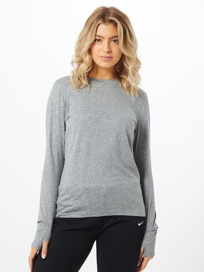 NIKE Sport-Shirt 'Element' in grau / graumeliert: Frontalansicht
