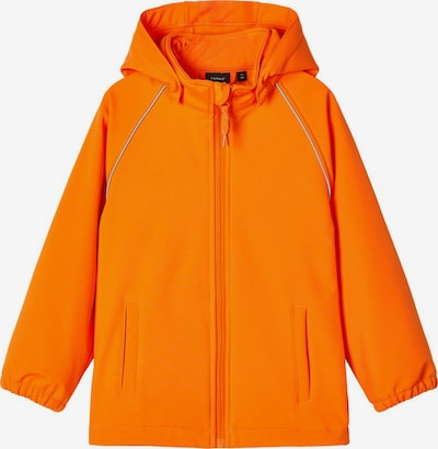 NAME IT Veste fonctionnelle 'Alfa Magic' en orange, Vue avec produit