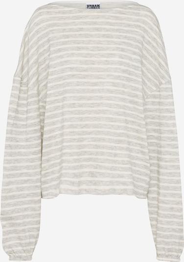 Urban Classics Pullover in hellgrau / weiß, Produktansicht