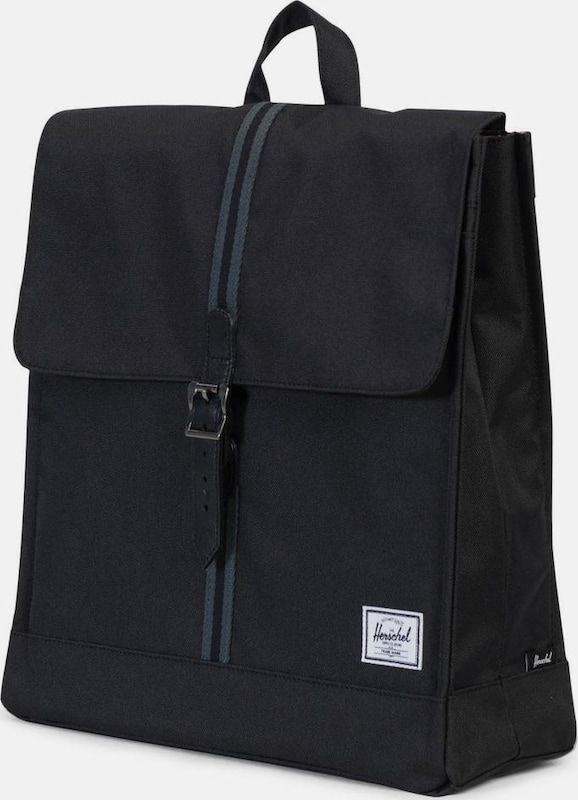 Herschel Daypack 'City, Black/Dark Shadow, Mid-Volume'