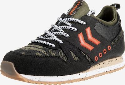 Hummel Sneakers in oliv / schwarz, Produktansicht