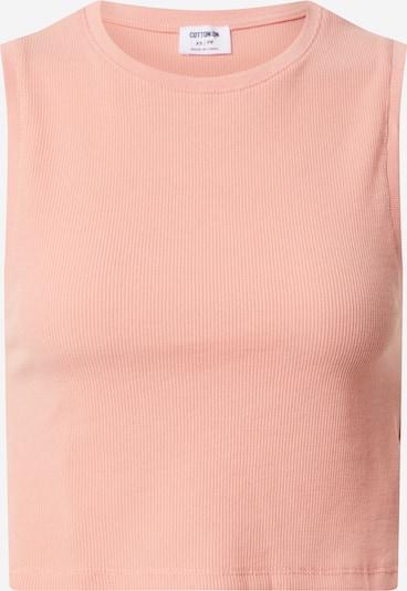 Cotton On Top 'THE WEEKEND' in de kleur Perzik, Productweergave