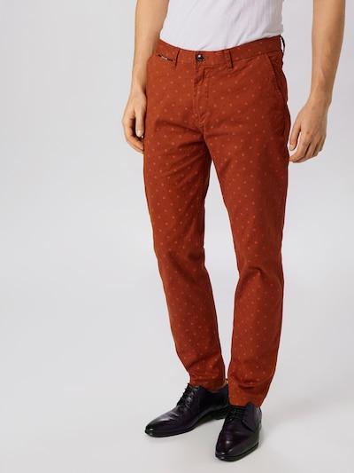 SCOTCH & SODA Pantalon 'Stuart' en marron, Vue avec modèle