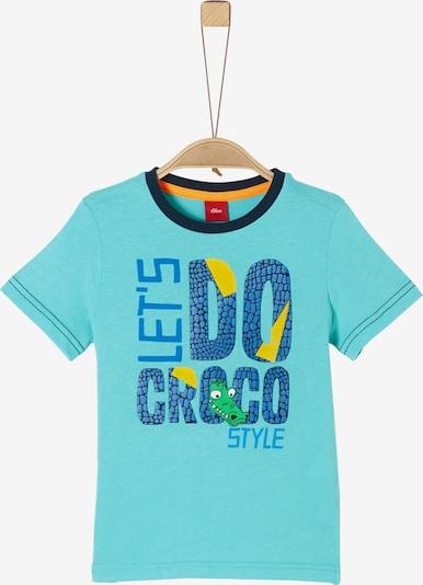 s.Oliver T-Shirt in blau, Produktansicht