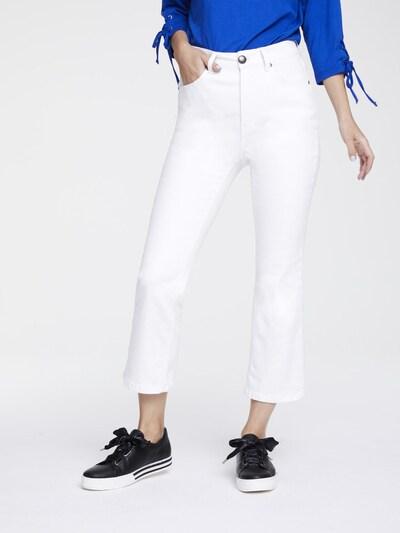 Džinsai 'Amirela' iš heine , spalva - balta, Modelio vaizdas
