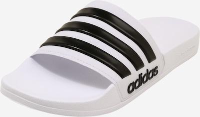 ADIDAS PERFORMANCE Pantolette in schwarz / weiß, Produktansicht