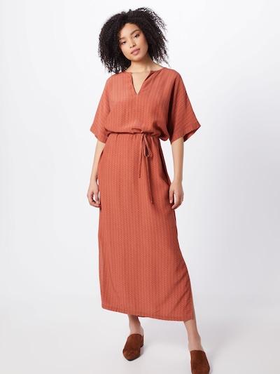 basic apparel Kleid 'Elly' in orange, Modelansicht