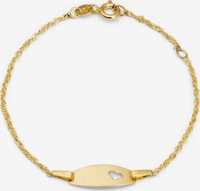 AMOR Armband 'Herz' in gold, Produktansicht