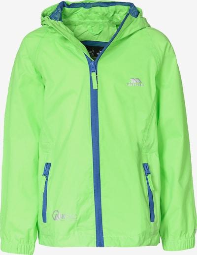 TRESPASS Jacke 'QIKPAC' in neongrün, Produktansicht