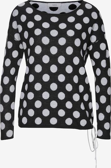 heine Pullover in schwarz / weiß, Produktansicht