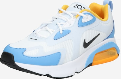 Nike Sportswear Sneakers low 'Air Max 200' in light blue / yellow / white, Item view