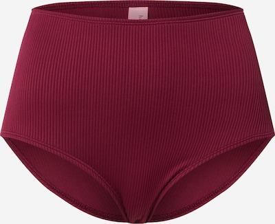 Hunkemöller Bikinibroek 'Golden Rings' in de kleur Rood, Productweergave