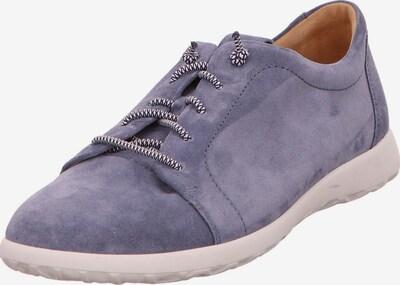 Ganter Schnürschuhe in violettblau, Produktansicht