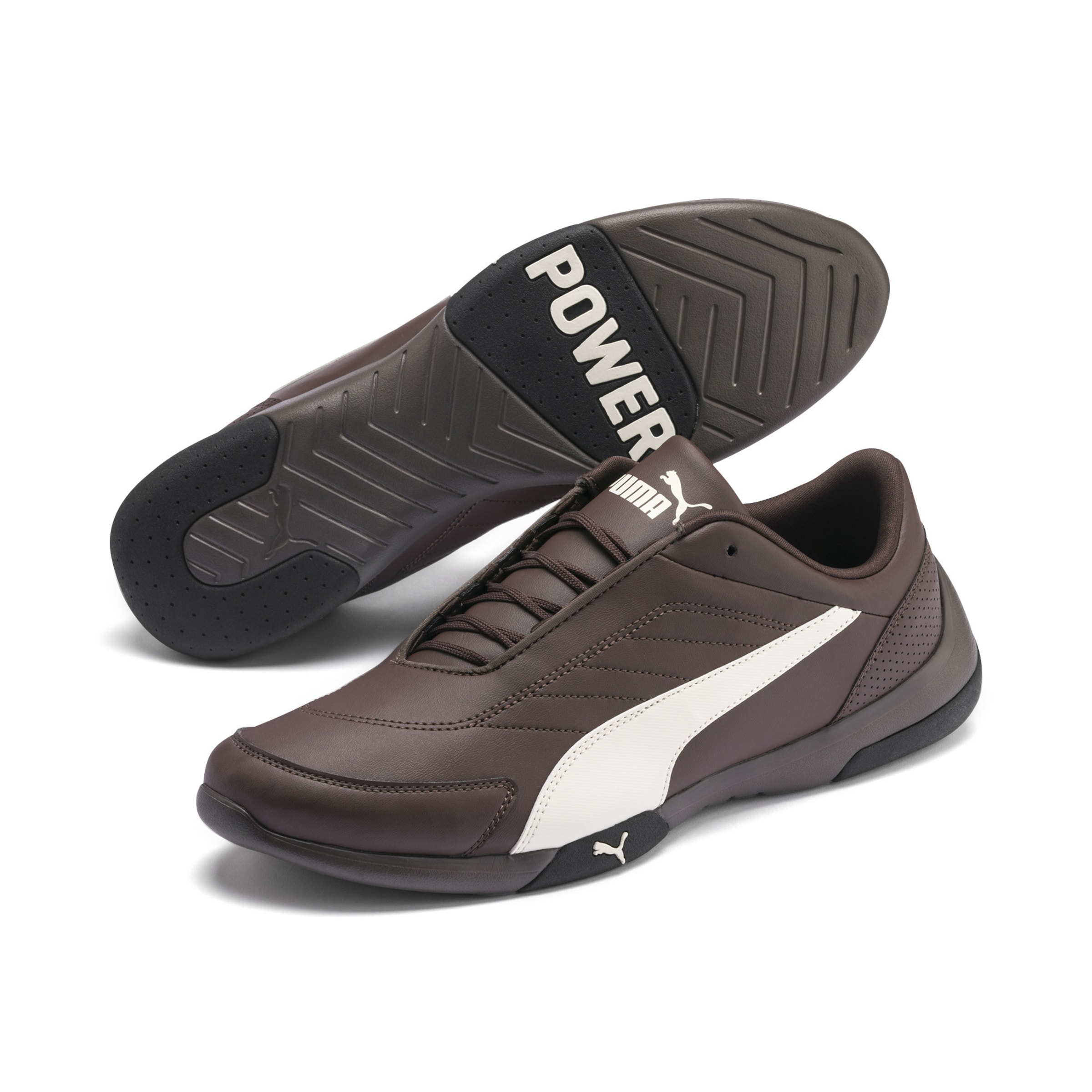 Sneaker Puma 'kart In Cat SchokoWeiß Iii' wmN80vn