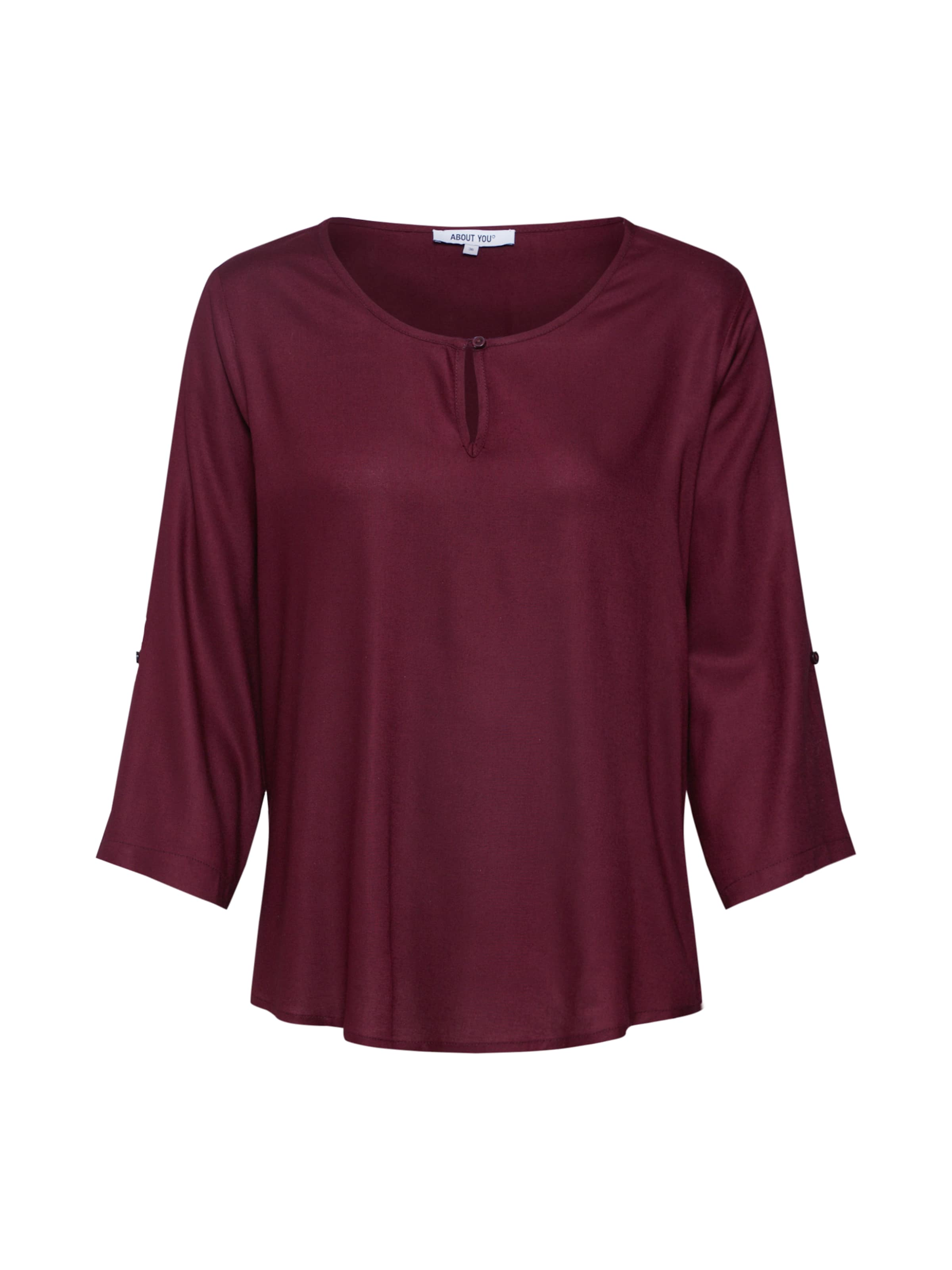 Bluse Bordeaux About You In 'carina' eCxordB