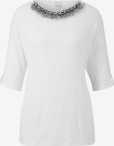 Marškinėliai iš heine , spalva - nebalintos drobės spalva: Vaizdas iš priekio