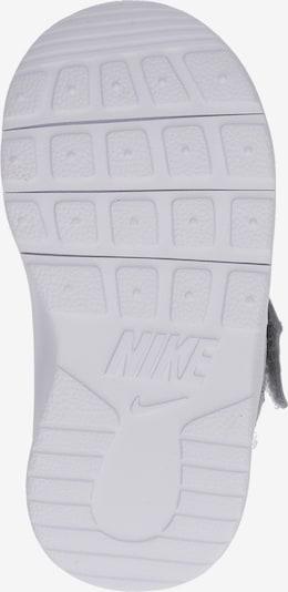 NIKE Sneaker 'Tanjun Toddler' in grau / weiß: Ansicht von unten
