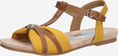 TOM TAILOR Sandaal in de kleur Bruin / Geel, Productweergave