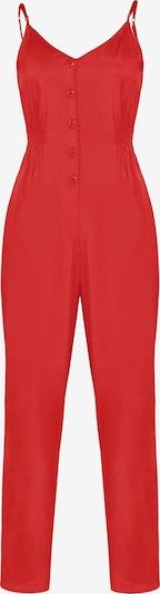 faina Jumpsuit in rot, Produktansicht