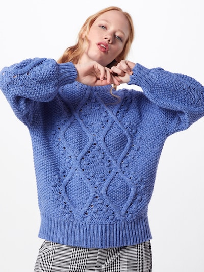 Rich & Royal Pullover in blau, Modelansicht