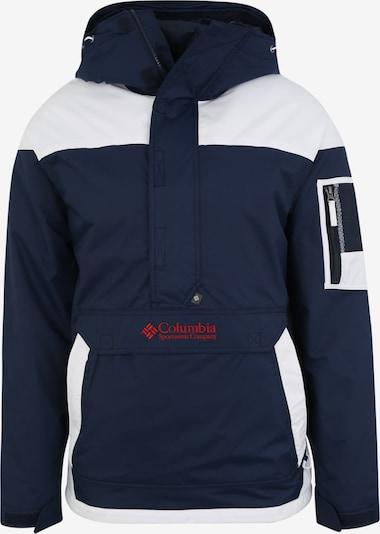 COLUMBIA Outdoor jakna 'Challenger' u mornarsko plava / bijela, Pregled proizvoda