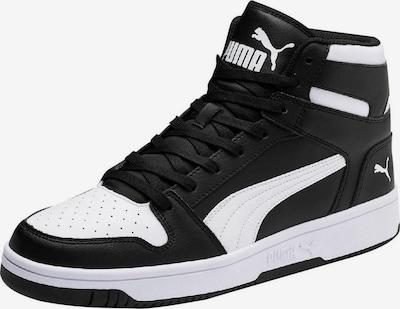 PUMA Sneaker 'Rebound LayUp L' in schwarz / weiß, Produktansicht
