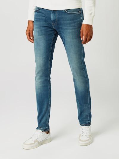 Pepe Jeans Jeans 'STANLEY' in de kleur Blauw denim: Vooraanzicht