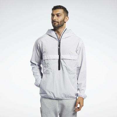 REEBOK Sportjas in de kleur Lichtgrijs, Productweergave