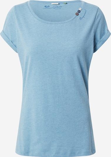 Ragwear T-shirt 'Florah' en bleu chiné, Vue avec produit