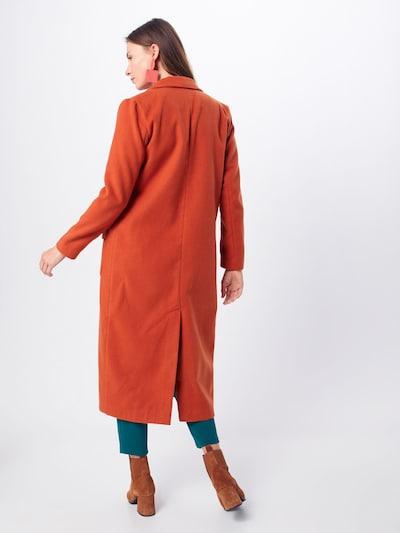 Palton de primăvară-toamnă GLAMOROUS pe roșu ruginiu: Privire spate