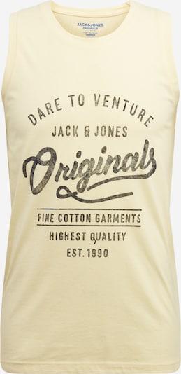 JACK & JONES Tanktop 'JORPANAMA' in gelb, Produktansicht