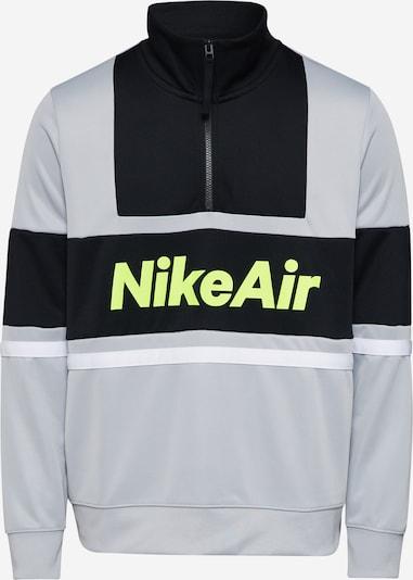 Nike Sportswear Sweat-shirt 'Nike Air' en gris / noir, Vue avec produit