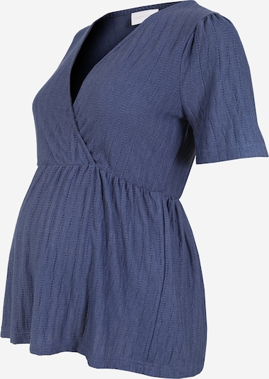 MAMALICIOUS Shirt in de kleur Donkerblauw: Vooraanzicht