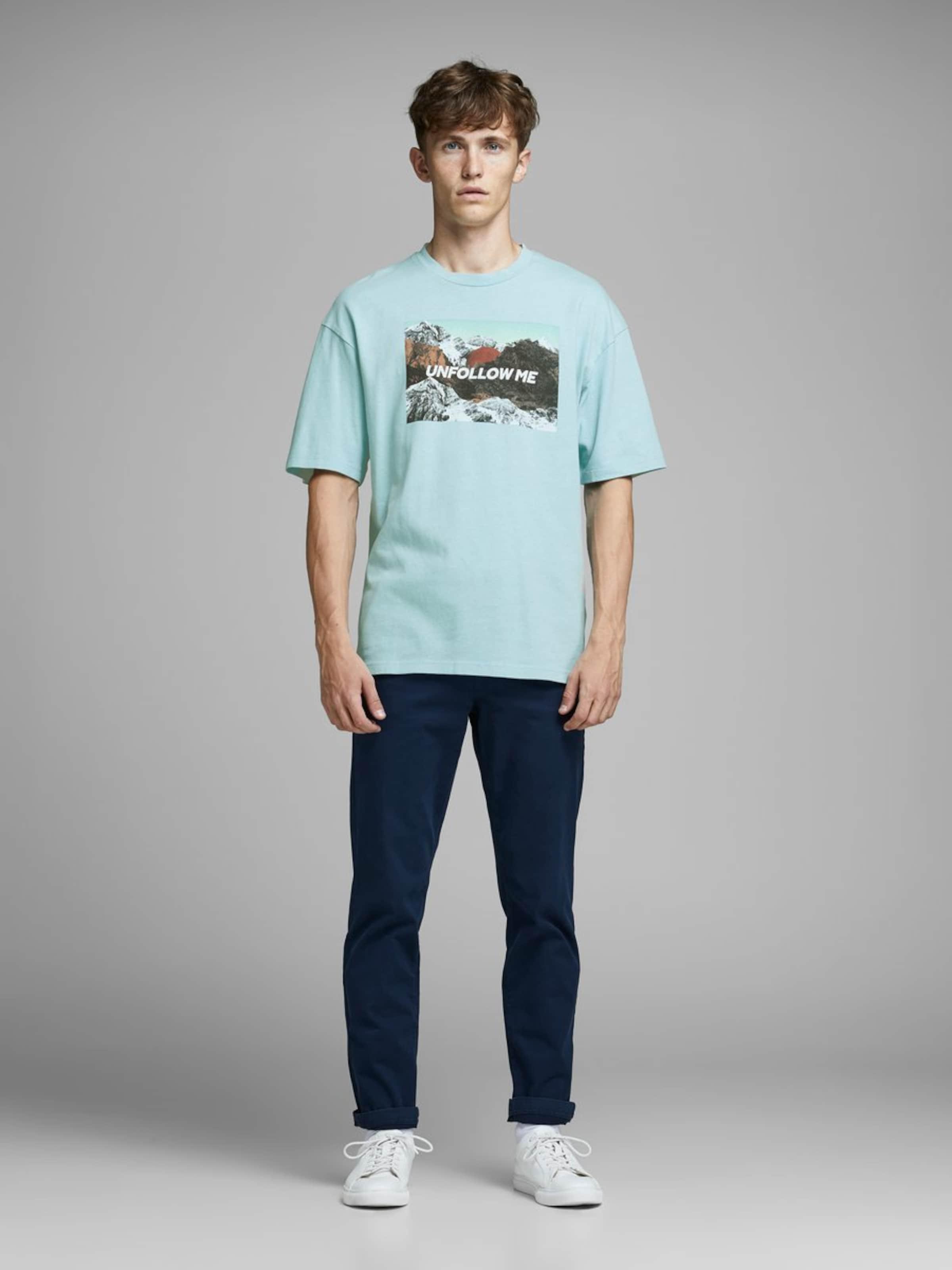 Jones In Hellblau T shirt Jackamp; mPN8wvnyO0