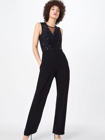 Unique Jumpsuit in schwarz, Modelansicht