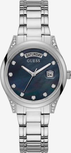 GUESS Analogais pulkstenis 'AURA', krāsa - Sudrabs, Preces skats