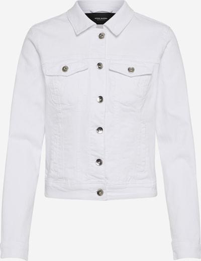 VERO MODA Tussenjas 'HOT SOYA' in de kleur Wit, Productweergave
