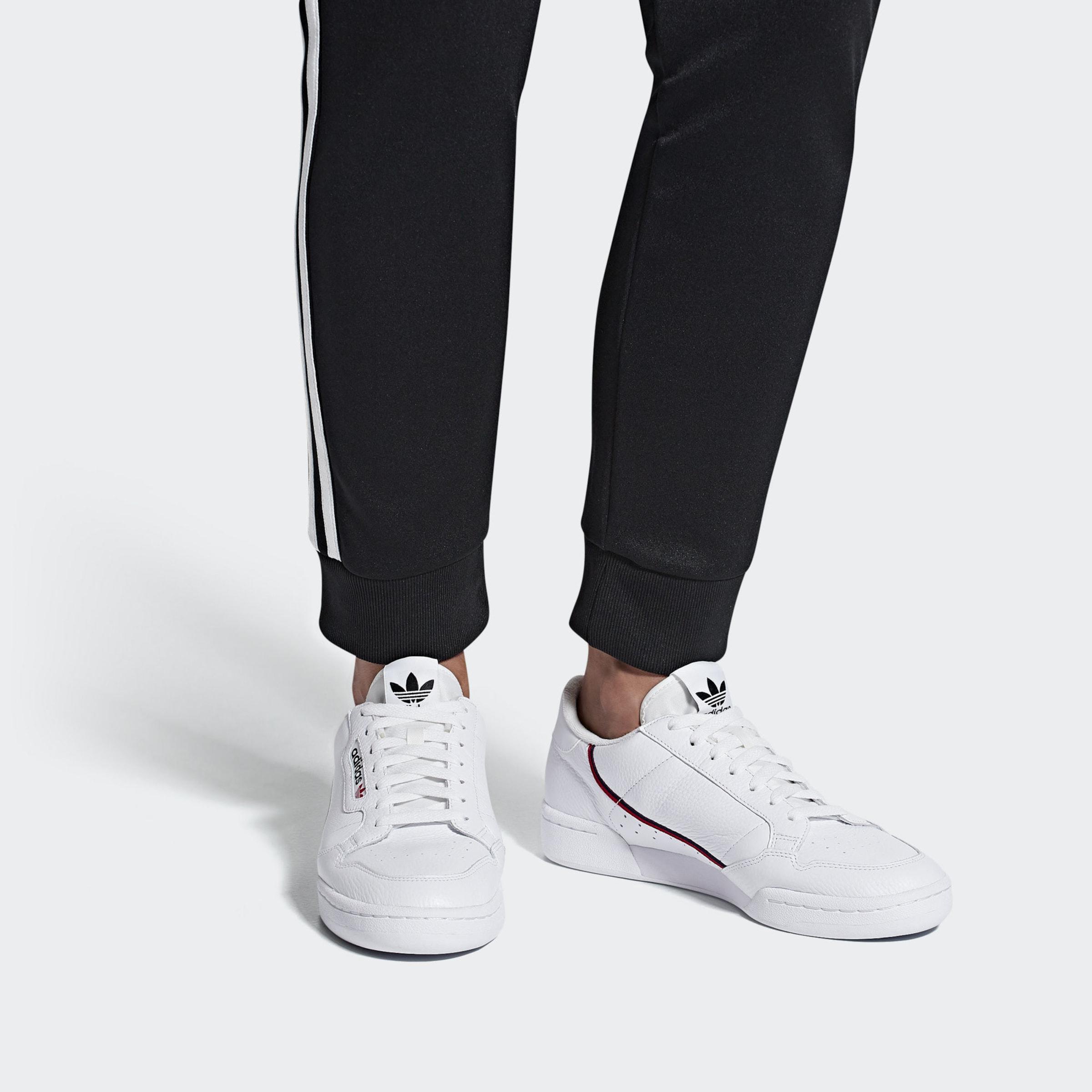 Sneaker 'continental In NavyRot Weiß 80' Adidas Originals EIDWbeYH29