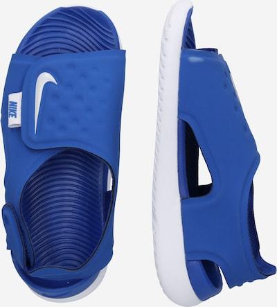 Pantofi deschiși 'Sunray Adjust 5' Nike Sportswear pe albastru: Privire laterală