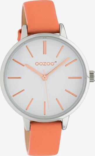 OOZOO Analoguhr 'JR311' in hummer / silber / weiß, Produktansicht