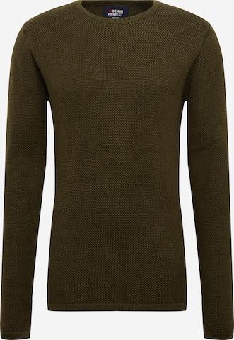 Pull-over 'Dot knit' Denim Project en vert