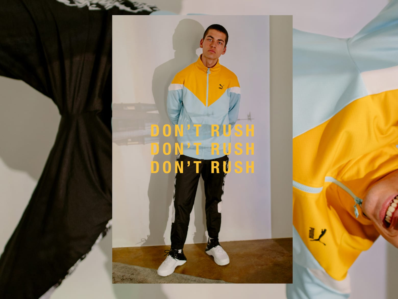 Fabian - Colorful Sweat Look