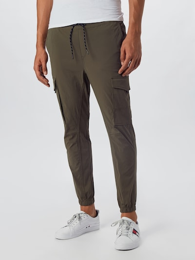 JACK & JONES Jogginghose 'JJIGORDON' in oliv, Modelansicht