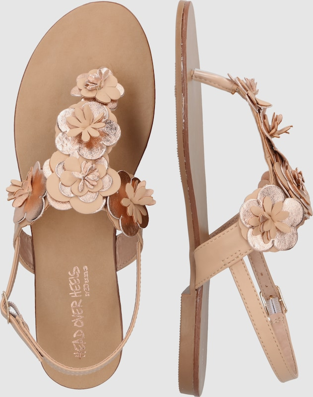 Head Over Heels | Zehentrenner Schuhe 'LIZZA' Schuhe Gut getragene Schuhe Zehentrenner 4c9f1e