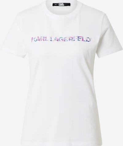 Karl Lagerfeld T-Shirt in mischfarben / weiß, Produktansicht